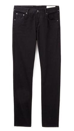 Rag & Bone Standard Issue  - Fit 2 Black Resin Jeans