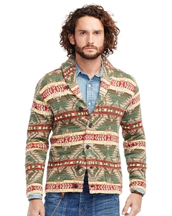 Denim & Supply Ralph Lauren - Southwestern Cotton Cardigan