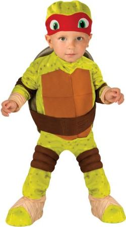 Nickelodeon  - Teenage Mutant Ninja Turtles Raphael Romper Shell and Headpiece