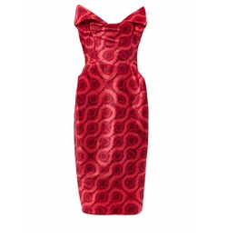 Vivienne Westwood Red Carpet  - Lilly Double Squiggle-print Dress