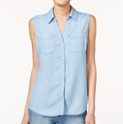 Maison Jules - Sleeveless Shirt