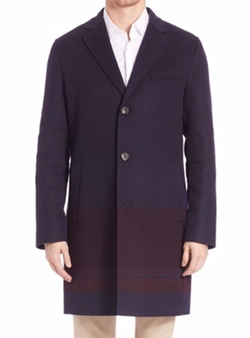 Salvatore Ferragamo - Cashmere & Wool Blend Top Coat