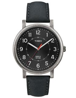 Timex Originals  - Indiglo Watch With Leather Strap