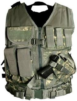 NcStar - Tactical Vest Digital Camo ACU XXL