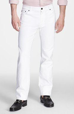 Salvatore Ferragamo - Five-Pocket Straight Leg Trousers