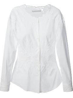 Ermanno Scervino  - Floral lace insert blouse