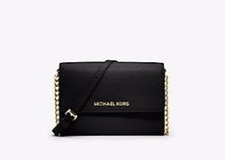 Michael Michael Kors - Jet Set Travel Saffiano Leather Smartphone Crossbody Bag