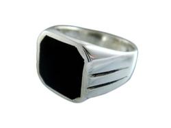 Elegant Jewel - Onyx Stone Classic Ring