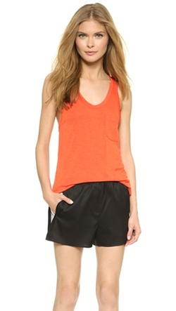 T By Alexander Wang - Classic Tank Top With Pocket