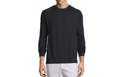 Vince - Crewneck Raglan-Sleeve Sweater