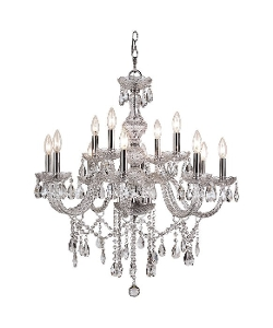 Trans Globe Lighting  - Crystal Chandelier
