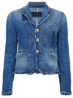 DSQUARED2  - Distressed Denim Jacket