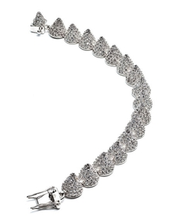 Eddie Borgo - Small Pave Cone Bracelet