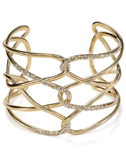 Alexis Bittar - Pave Crystal Barbed Cuff Bangle