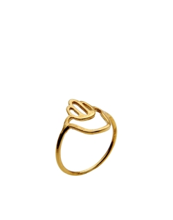 Aonie - Gold Plated Silver Ring