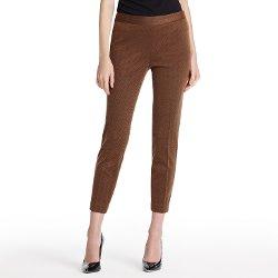 Jones New York - Herringbone Side Zip Pant In Ponte