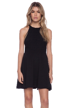 Addison - Burton Halter Fit + Flare Dress