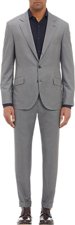 Brunello Cucinelli - End-On-End Three-Button Suit