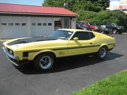 Ford - 1972 Mustang Coupe