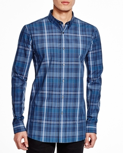 Hugo - Elisha Plaid Button Down Shirt