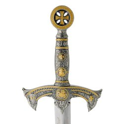 General Edge - Knights Templar Medieval Sword