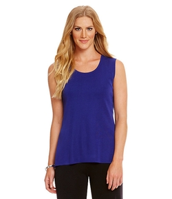 Misook - Scoop Neck Tank Top
