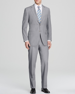 Canali - Basket Weave Travel Suit