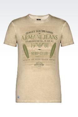 Armani Jeans - Cotton jersey T-Shirt
