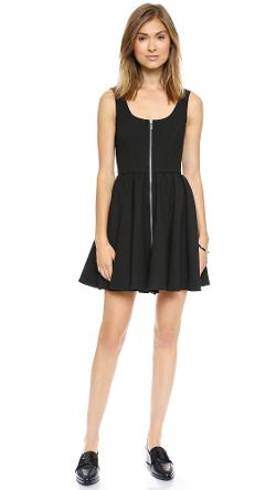 Elizabeth and James  - Cambelle Zip Front Dress