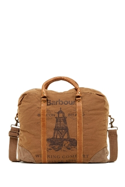 Barbour - Washed Canvas Holdall Bag
