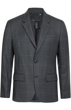 Marc By Marc Jacobs - Wool Blend Check Blazer