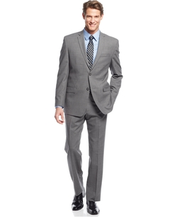 Marc New York By Andrew Marc - Grey Plaid Suit
