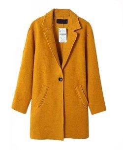 Chic Nova - Tailored Collar Overcoat