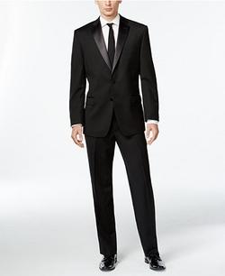 Calvin Klein Black - Two-Button Slim-Fit Tuxedo