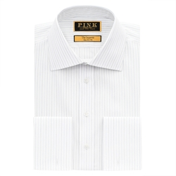Thomas Pink - Ermel Stripe Slim Fit Double Cuff Shirt