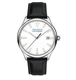 Movado  - Heritage Tongue Buckle Strap Watch
