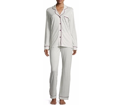 Cosabella - Bella Dot-Print Long-Sleeve Pajama Set