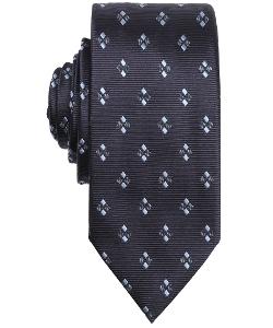 Ermenegildo Zegna - Fantasy Diamond Printed Silk Tie
