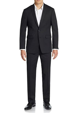 Calvin Klein  - Extreme Slim-Fit Wool Suit