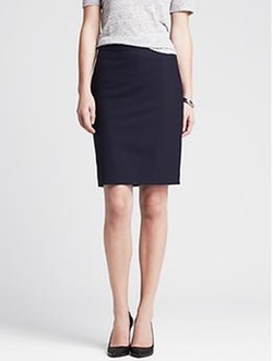 Banana Republic - Lightweight Wool Pencil Skirt