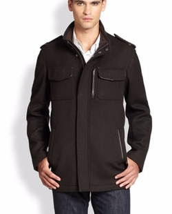 Cole Haan - Modern Twill Military Jacket