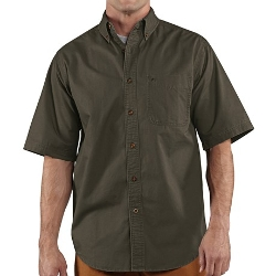 Carhartt - Hines Solid Short Sleeve Shirt