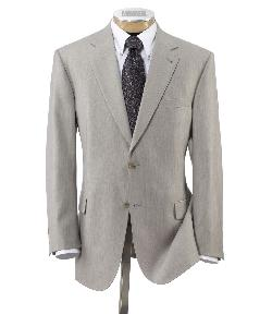 Jos. A. Bank - Signature 2-Button Imperial Wool/Silk Blend Suit