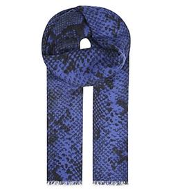 Diane Von Furstenberg  - Heritage Python-Print Cashmere Scarf