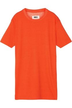 Mm6 Maison Margiela - Oversized Modal-Jersey T-Shirt