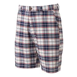 Croft & Barrow - Oxford Plaid Easy-Care Flat-Front Shorts