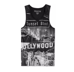 Ring of Fire  - Los Angeles Graphic-Print Tank Top