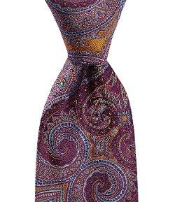 Ike Behar - Medieval Paisley Silk Necktie