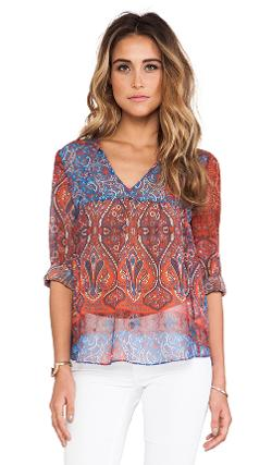 Rory Beca - Augie Babydoll Blouse