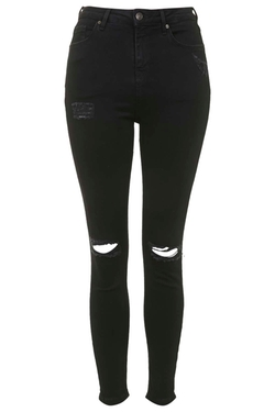 Topshop - Ripped Jamie Jeans